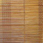 Bambú fino marrón claro urdimbre algodon