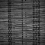 Bambú fino negro urdimbre algodon