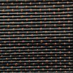 Bambú negro tafetán algodón marrón